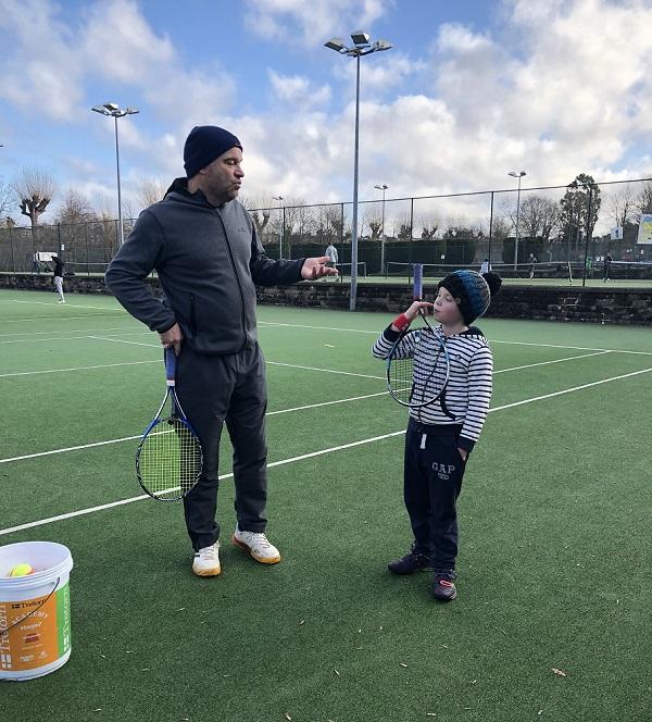 Private tennis coaching at Wimbledon London - tennis4you