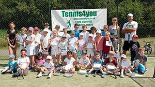 Tennis coaching for juniors