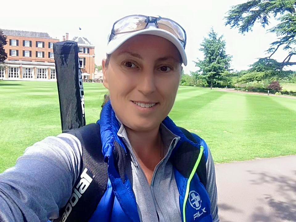 Tennis coaching in Wimbledon Park - Angela Wilson