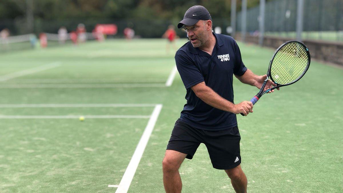 Tennis coaching in Wimbledon Park - Paul Barton