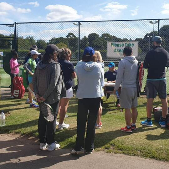 Tennis events for adults in Wimbledon Park