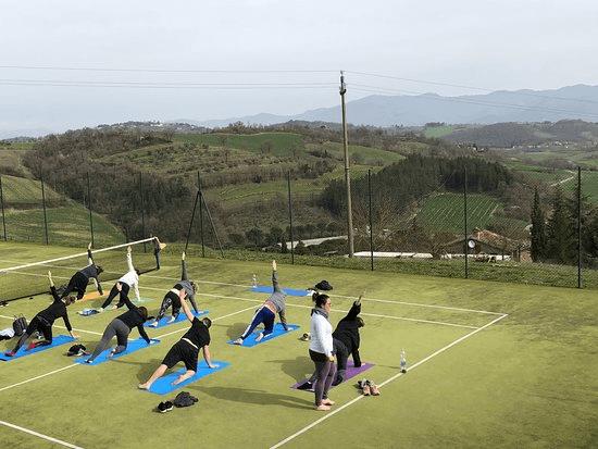 Yoga Tennis at Wimbledon Park - tennis4you yoga sessions